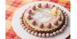「キョロちゃん」がキュートなイースターケーキに!ホテルビュッフェに登場