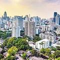 バンコクのスクンビットは高級住宅街や日本人街もあり、アーリーリタイア層が多く住む地域だ