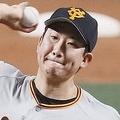 7回1失点で10勝目を挙げた巨人・菅野=ナゴヤドーム(C)Kyodo News