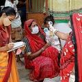 インドで過去24時間に報告された死者数6148人 1日の死者数として世界最多