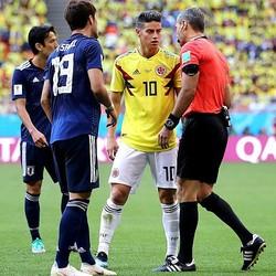 コロンビア代表が日本代表と戦うのはロシアW杯以来となる。(C)Getty Images