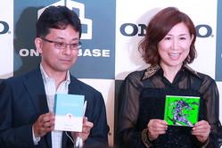 高橋洋子さんもエヴァカラーのイヤホンを型取り! アキバ オンキヨー「ONKYO BASE」は楽しみ満載