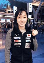 代表選考レース最後の2大会へ出発した石川佳純