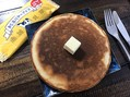かじるバターアイスをホットケーキに……!?