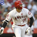 ANAHEIM, CA - JULY 27: Shohei Ohtani #17 of the Los Angeles Angels of Anaheim drops his bat after hitting a solo home run in the third inning agaisnt the Baltimore Oriolesat Angel Stadium of Anaheim on July 27, 2019 in Anaheim, California. (Photo by John McCoy/Getty Images)