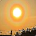 今シーズン一番の大量飛散か 関東では朝から花粉光環が出現