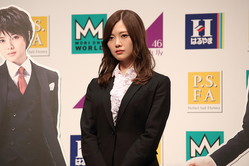 白石麻衣さん(2018年2月7日撮影)