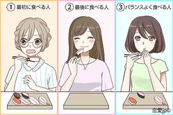 """○番目に食べる人は""""恋愛下手""""!?「好きなものをいつ食べるか」で分かる性格診断"""
