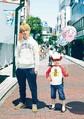 テレビ朝日ドラマ「コタローは1人暮らし」で主演する関ジャニ∞の横山裕と子役の川原瑛都