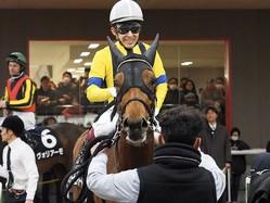 ゆりかもめ賞は福永騎乗のディープインパクト産駒・リリーピュアハートが2連勝を飾る