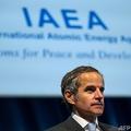 国際原子力機関(IAEA)のラファエル・グロッシ事務局長(2020年9月21日撮影)。(c)JOE KLAMAR / AFP