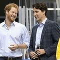 カナダのトルドー首相、ヘンリー英王子一家の警備費「合意ない」