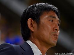 日本代表を率いる森保一監督
