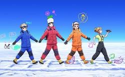 左から白石結月、小淵沢報瀬、玉木マリ、三宅日向/画像はすべてアニメ公式サイトから
