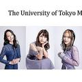 「ミス東大2020」のファイナリストたち(左端が神谷さん、中央が根本さん)