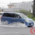 洪水や台風時の車の避難場所 立体駐車場付きのパチンコ店が適切