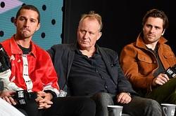 左からシャイア・ラブーフ、ステラン・スカルスガルド、スベリル・グドナソン  - Courtesy of Alberto E. Rodriguez Getty Images For TIFF