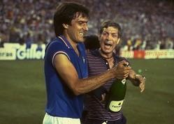 82年W杯の栄光のメンバー。堅守のイタリアの伝統を守りながら、攻撃的な姿勢も失わなかった。 (C) Getty Images