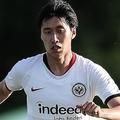 ジェノア移籍の噂が浮上している鎌田。(C)Getty Images