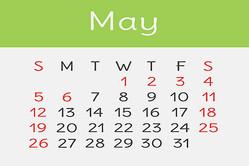 【5月の開運カレンダー】5月6日は新しいスタートが吉、ダイエット計画もオススメ!
