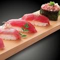 「生本鮪の握り寿司盛り合わせ」(画像: 大庄の発表資料より)