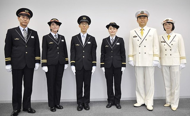 【制服】JR東日本「スカート廃止する。色も男女統一。性差をなくすことを意識した」