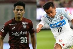 Jリーグでもティーラトン(左)やチャナティップ(右)ら東南アジア出身選手の活躍が目立っている。