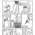 柿ピーを自分のごはんと勘違い 子猫から報復を受けた漫画家