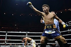 259秒KOでIBF王者エマヌエル・ロドリゲスを下した井上尚弥【写真:Getty Images】