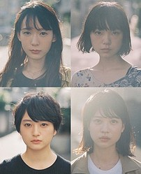 (上段左から)穂志もえか、古川琴音、(下段左から)萩原みのり、中田青渚