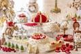 """""""アリスの世界""""が楽しめるクリスマスデザートビュッフェ、ヒルトン東京に白うさぎロールやツリーケーキ"""