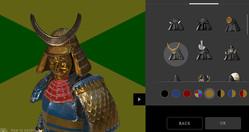 これは面白すぎる!甲冑や衣装をカスタマイズして自分の顔写真で侍アバターが作れる「SAMURAI AVATAR」