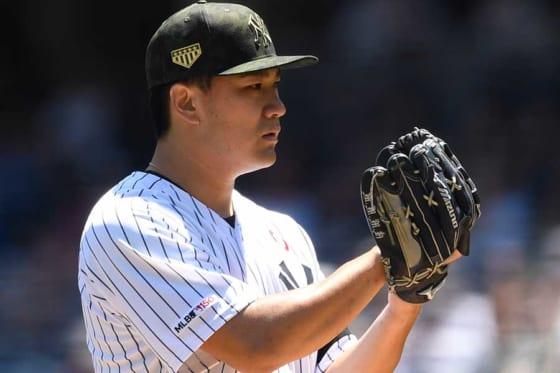 [画像] 【MLB】田中将大、右足に打球直撃で降板も…6回零封の快投、監督絶賛「直球を自在に操った」
