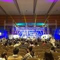 会場で行われた祝賀公演の様子=1日、ソウル(聯合ニュース)