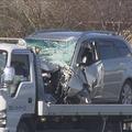 千葉県で乗用車に原付バイクと自転車が衝突 男性2人が死亡