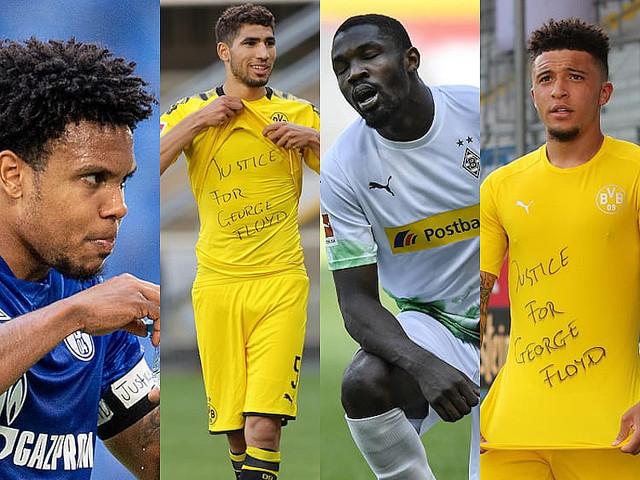 ドイツサッカー連盟、黒人男性死亡事件に抗議した4選手を調査