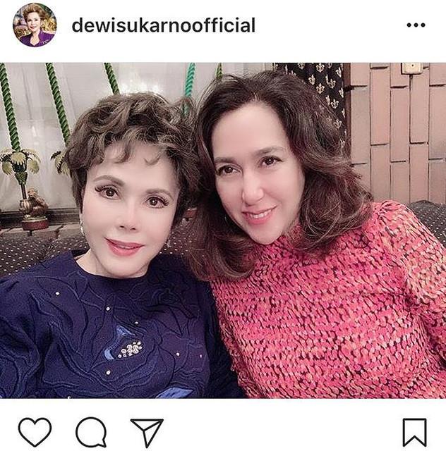 【芸能】デヴィ夫人、美人娘のカリナさんとの2ショットを公開!