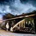 栗東トレセンの厩舎地区で14日に発生した火災事故