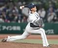 6回、投球する西武・佐々木=メットライフドーム(撮影・加藤圭祐)