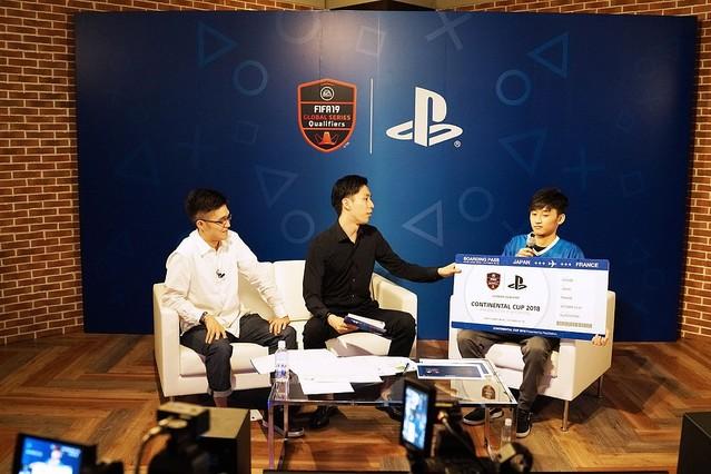 CONTINENTAL CUP 2018日本代表選考会>FIFA19新機能タイミング