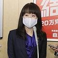 9月30日、自民党本部に呼び出された杉田議員(写真:時事通信)