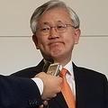 9日、羽田空港に到着した南氏=(聯合ニュース)