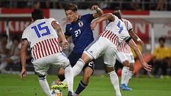 日本代表、大迫と南野のゴールでパラグアイに快勝!久保も好プレーを見せる