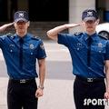 (写真提供=SPORTS KOREA)兵役を終えたチェ・シウォン(左)とチャンミン