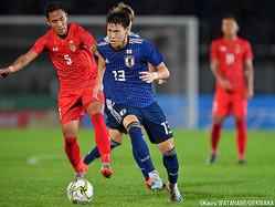 日本代表MF橋本拳人(FC東京)