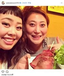 渡辺直美と友近が「櫻井・有吉THE夜会」に登場/※画像は渡辺直美(watanabenaomi703)公式Instagramのスクリーンショット