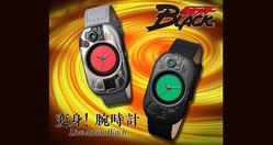 仮面ライダーBLACKの変身ベルトがハイエンドな大人の腕時計になった!シャドームーンもあるよ♪