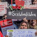 米ニューヨーク州の議員らが、州全域で売春を非犯罪化する法案を検討中。(Photo by Erik McGregor/Pacific Press/LightRocket/Getty Images)