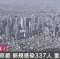東京都で新たに337人の感染を確認 重症者は2人減って68人