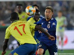 ロシアW杯以来の代表戦出場となったMF香川真司